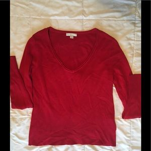 Red size small NEW YORK & CO BEAUTIFUL sweater